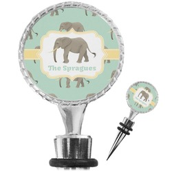 Elephant Wine Bottle Stopper (Personalized)