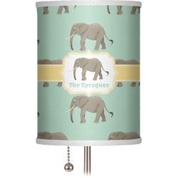 "Elephant 7"" Drum Lamp Shade (Personalized)"