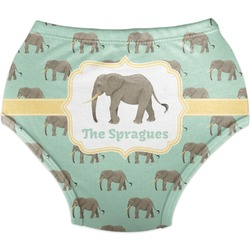 Elephant Diaper Cover (Personalized)