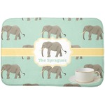 Elephant Dish Drying Mat (Personalized)