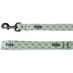 Elephant Deluxe Dog Leash (Personalized)