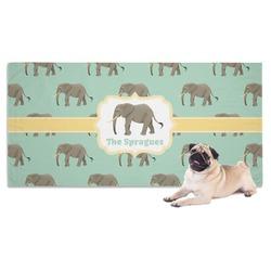 Elephant Pet Towel (Personalized)