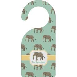 Elephant Door Hanger (Personalized)