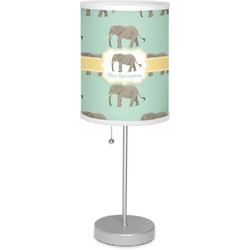 "Elephant 7"" Drum Lamp with Shade (Personalized)"