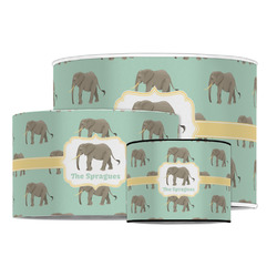 Elephant Drum Lamp Shade (Personalized)