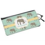 Elephant Genuine Leather Eyeglass Case (Personalized)