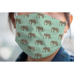Elephant Face Mask Cover (Personalized)