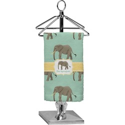 Elephant Finger Tip Towel - Full Print (Personalized)