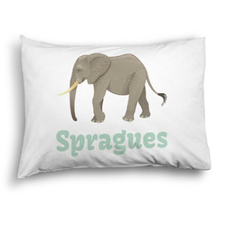 Elephant Pillow Case - Standard - Graphic (Personalized)