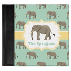 Elephant Genuine Leather Baby Memory Book (Personalized)