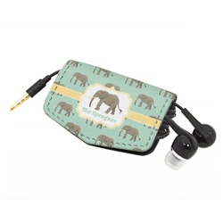 Elephant Genuine Leather Cord Wrap (Personalized)