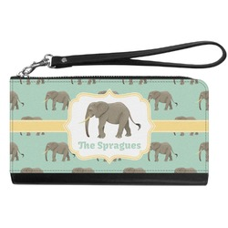 Elephant Genuine Leather Smartphone Wrist Wallet (Personalized)