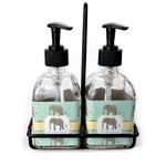 Elephant Soap & Lotion Dispenser Set (Glass) (Personalized)