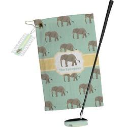 Elephant Golf Towel Gift Set (Personalized)