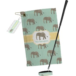Elephant Golf Towel Gift Set (Personalized)