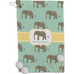 Elephant Golf Towel - Full Print (Personalized)
