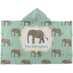 Elephant Kids Hooded Towel (Personalized)