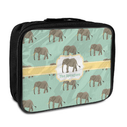 Elephant Insulated Lunch Bag (Personalized)