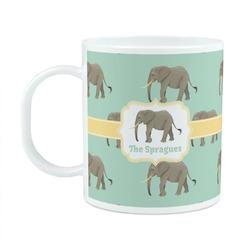 Elephant Plastic Kids Mug (Personalized)