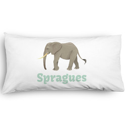Elephant Pillow Case - King - Graphic (Personalized)