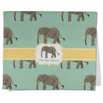 Elephant Kitchen Towel - Full Print (Personalized)