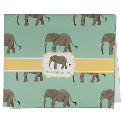 Elephant Kitchen Towel - Full Print (Personalized)