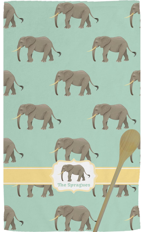 Elephant Kitchen Towel (Personalized) Elephant Kitchen Towel (Personalized)  Full ...