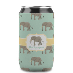 Elephant Can Sleeve (12 oz) (Personalized)