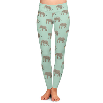 Elephant Ladies Leggings (Personalized)