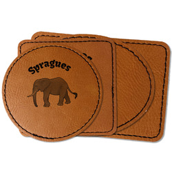 Elephant Leatherette Patch (Personalized)