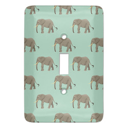Elephant Light Switch Covers - Multiple Toggle Options Available (Personalized)