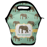 Elephant Lunch Bag w/ Name or Text