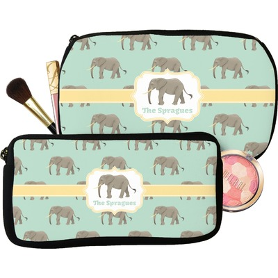 Elephant Makeup / Cosmetic Bag (Personalized)
