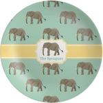 Elephant Melamine Plate (Personalized)