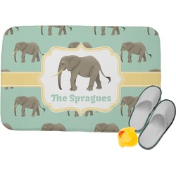 Elephant Memory Foam Bath Mat (Personalized)