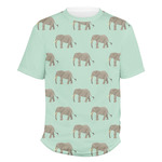 Elephant Men's Crew T-Shirt (Personalized)