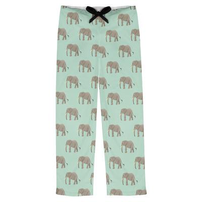 Elephant Mens Pajama Pants (Personalized)