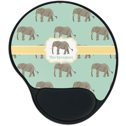 Elephant Mouse Pad with Wrist Support