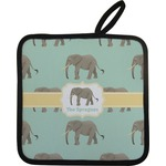 Elephant Pot Holder (Personalized)