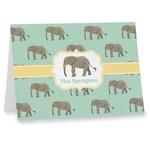 Elephant Notecards (Personalized)