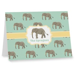 Elephant Note cards (Personalized)