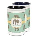 Elephant Ceramic Pencil Holder - Large
