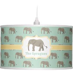 Elephant Drum Pendant Lamp (Personalized)