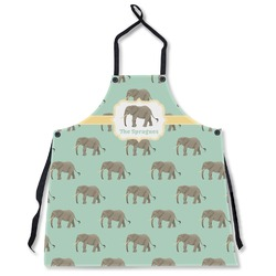 Elephant Apron Without Pockets w/ Name or Text