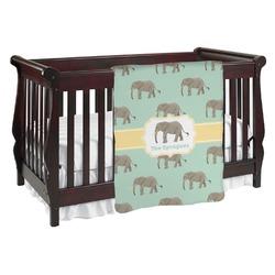 Elephant Baby Blanket (Personalized)