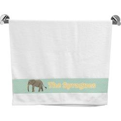 Elephant Bath Towel (Personalized)