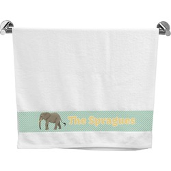 Elephant Bath Towel (Personalized)