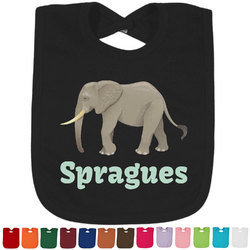 Elephant Baby Bib - 14 Bib Colors (Personalized)