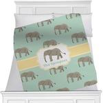 Elephant Minky Blanket (Personalized)