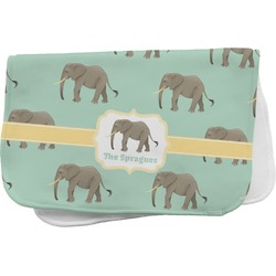 Elephant Burp Cloth (Personalized)